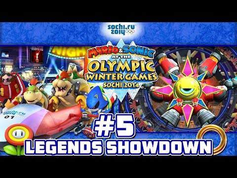 Mario & Sonic at the 2014 Sochi Olympic Winter Games - Part 5: Legends Showdown AREA #5 TEAM BOWSER