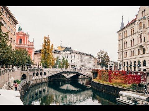 Ljubljana , Slovenia in Ultra 4K