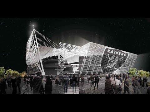 Oakland Raiders New Coliseum NFL Stadium Concept You Never Saw