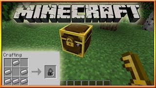 How To Lock Chests In Minecraft 1.8 'Tutorial'
