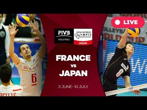 France v Japan - 2016 Men's World Olympic Qualification Tournament