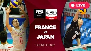 France v Japan - 2016 Men's World Olympic Qualification Tournament