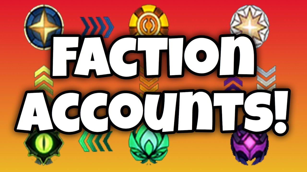 How I Play the Faction Accounts! [AFK ARENA]