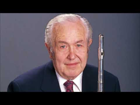Pierre Sancan: Sonatine - Julius Baker, flute.