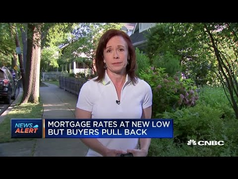 Mortgage Rates Hitting New Lows But Buyers Pull Back