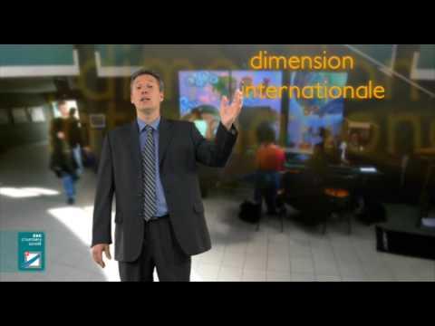 ESC Chambéry Savoie, La Serious School - Réalisation NOVAMOTION : 3D blue screen Film