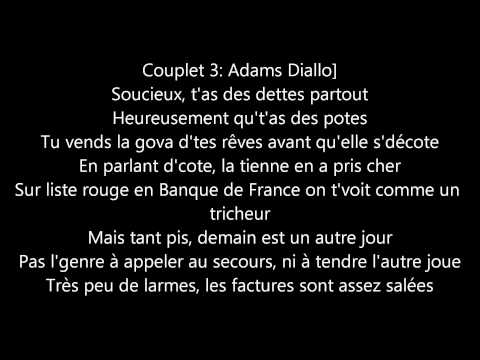 Sexion D'Assaut J'reste Debout ( Paroles )