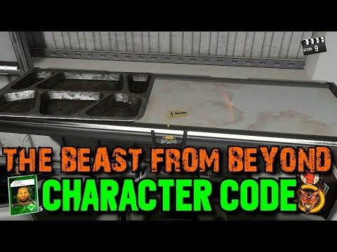 The Beast from Beyond: Code for Playable Character - Willard Wyler or Samantha Cross