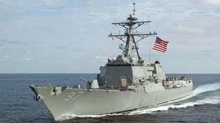 US Navy: USS Halsey (DDG-97) 2012 Homecoming - Welcome Home! (San Diego)