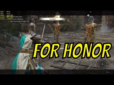 FOR HONOR on Intel HD Graphics 4000 (BETA) | Low End Games