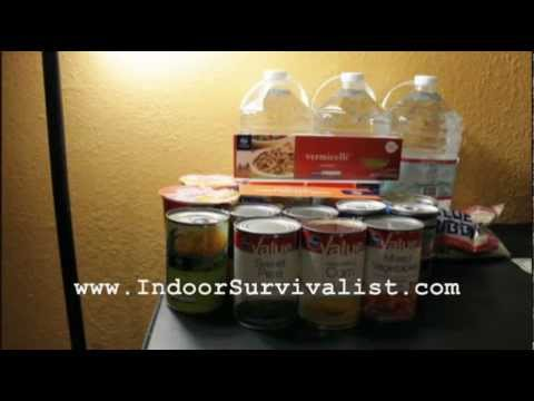 Prepping Food On A $20 Budget - Indoor Survivalist