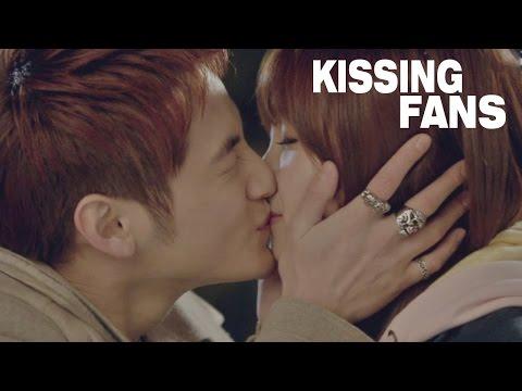 KPOP STARS KISSING FANS