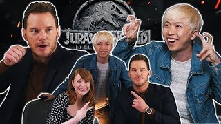 揭曉Jurassic World電影內幕?! 我要去當電影明星了..ft.Chris Pratt , Bryce Dallas Howard , J.A Bayona