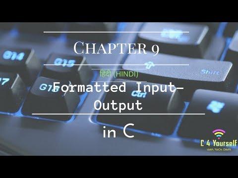 Ch 9 | Formatting Input / Output | C Language palindrome programming coding engineering code