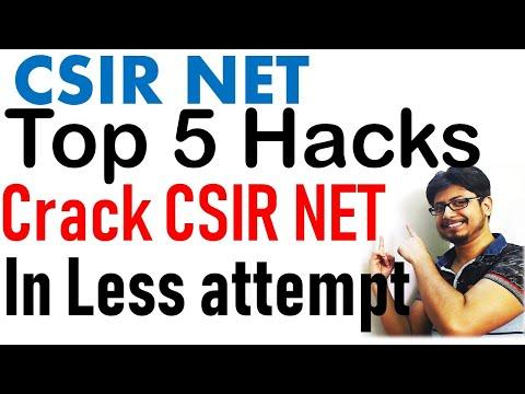 Top 5 CSIR NET tips and tricks to crack CSIR NET exam