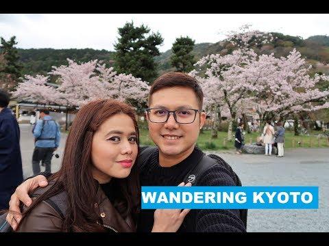Wandering Kyoto (Kyoto Travel Guide) - Japan Travel Vlog: Day 4    Poti Travels
