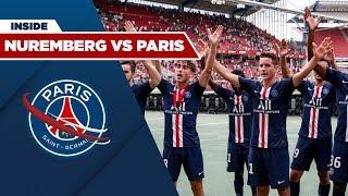 INSIDE : NUREMBERG vs PARIS SAINT-GERMAIN with Pablo SARABIA and Abdou DIALLO