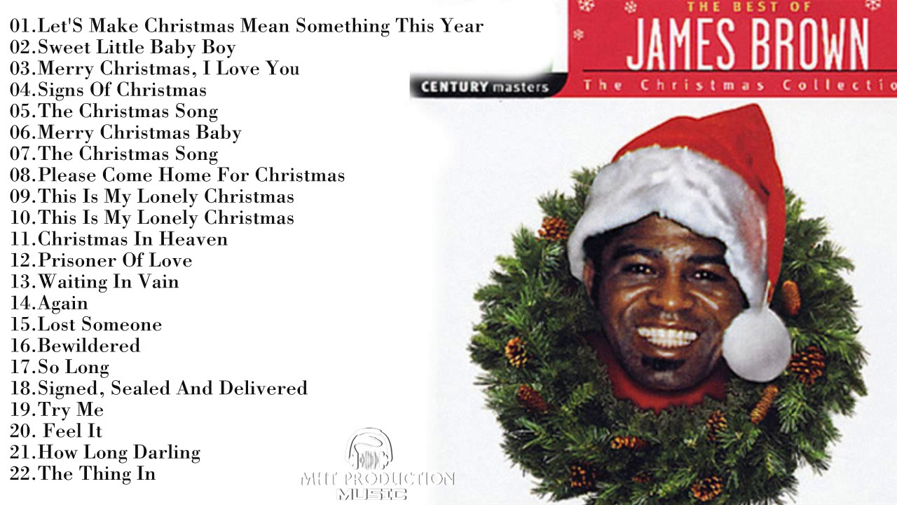 James Brown Christmas Songs Greatest Hits || Best Songs James Brown ...