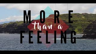 Leaving Cardboard Houses - More Than a Feeling [OFFICIAL LYRIC VIDEO]