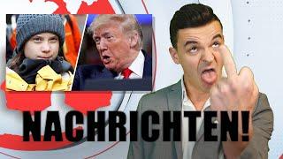 Tourette Nachrichten vom 18.12.2019 - Betrunkener Priester, Kind mit Mittelfinger und Trump!
