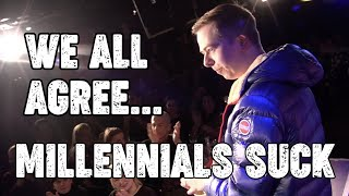 Roasting Millennials with Freestyle Rap!