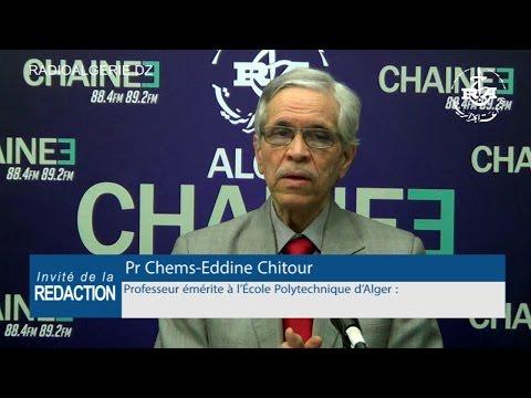 Chems Eddine Chitour, professeur émérite à l'École Polytechnique d'Alger