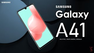 Samsung Galaxy A41 First Look, Design, Motion Teaser, Camera, Specifications, Features