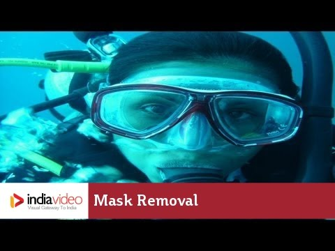 Mask Removal – A Big Challenge in Scuba Diving