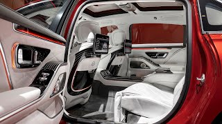 2022 Mercedes-Maybach S-Class - INTERIOR Details