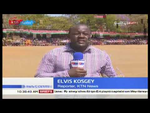 KDF pass out parade ongoing at Military recruits school