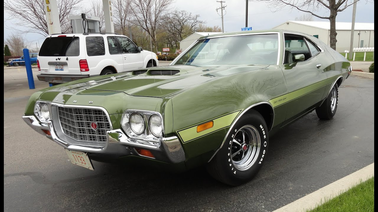 1972 ford gran torino sport 351 cobra jet my car story with lou costabile youtube - Ford Gran Torino Fastback