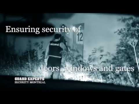 GUARD EXPERTS SECURITY. Private Security Patrol in Montreal