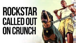Rockstar Executive IN TROUBLE For Normalising Crunch