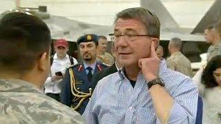 كارتر الى بغداد لتعزيز المساعدات العسكرية الاميركية بهدف تحرير الموصل