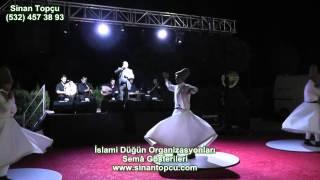 Sinan Topçu izmir aliağa anatolya beach club islami düğün organizasyonu ve semazen gösterisi