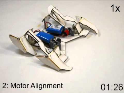 Robot Folds Itself and Walks Away
