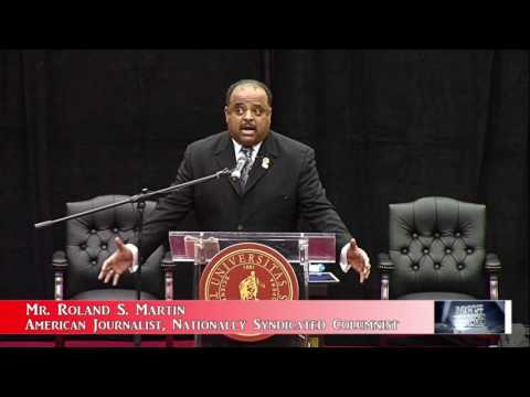 """Mr  Roland S  Martin """"Parent PLUS Loans"""" Host of News One Now, on TV One Part 2 {1 16 2017}"""