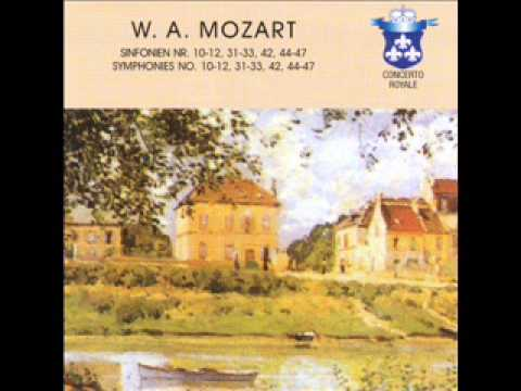 W. A. Mozart, Sinfonia n. 44 in Re Maggiore, KV 81