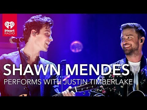 Shawn Mendes Joins Justin Timberlake On Stage At 2018 IHeartRadio Music Festival!