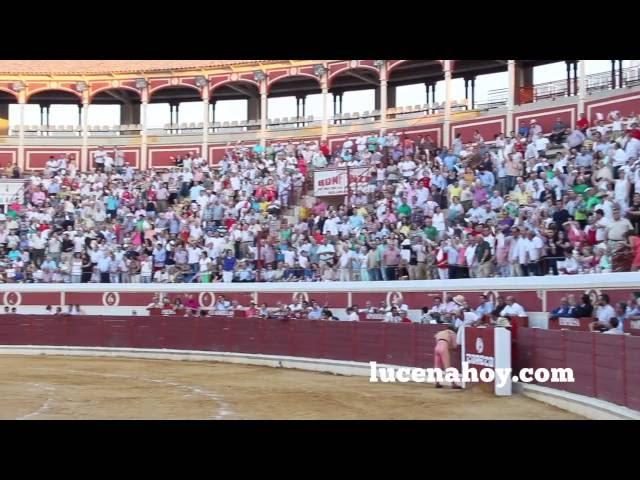 Vídeo: Retazos de la Corrida de Toros X Aniversario del Coso de los Donceles, en Lucena