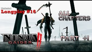 Ninja Gaiden 2 Longplay [#16] Xbox 360 All Chapters 1/2