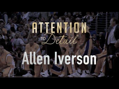 Attention to Detail: Allen Iverson