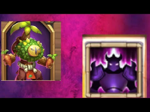 Lost Battlefield With New Hero Plant Warrior And New Talent Wicked Armor Castle Clash