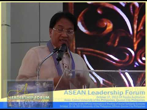 "Dr. Cielito ""Ciel"" Habito at ALF 2013, 3rd Day of RIPESS Manila 2013 Part 2"