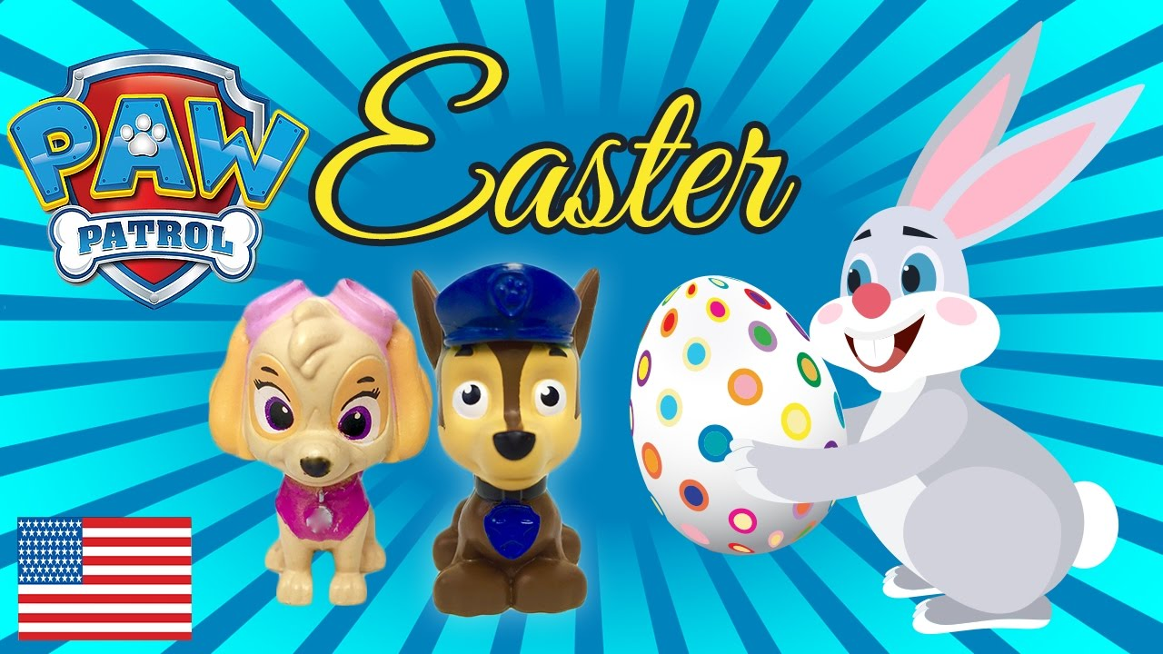 Baby Paw Patrol First Easter Special Episode Chase And
