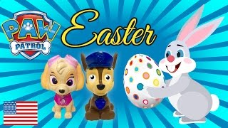 Baby Paw Patrol First Easter Special Episode Chase and Skye Puppy Vlog