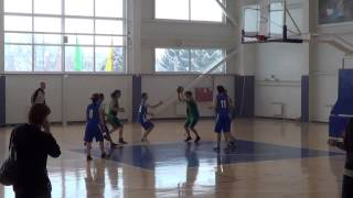 Баскетбол. Девушки. В-Хавская СОШ №2 - Углянская СОШ