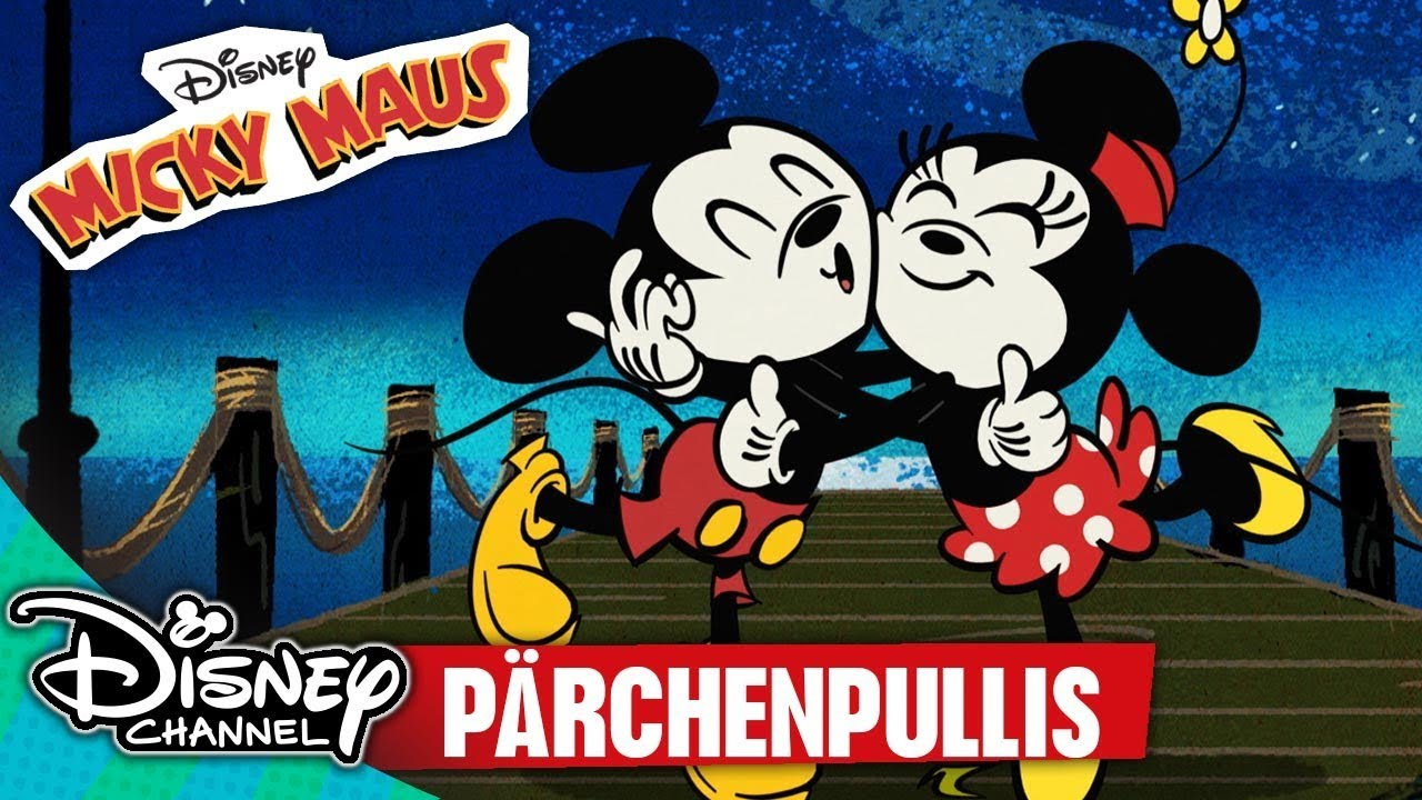 Disney Shorts Youtube: MICKY MAUS SHORTS - Pärchenpullis