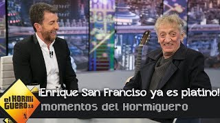 Enrique San Francisco se suma al club Platino de 'El Hormiguero 3.0'