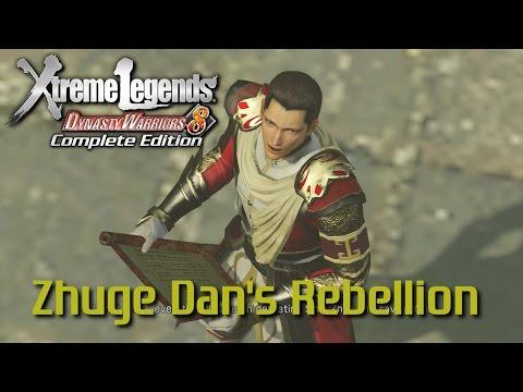 Dynasty Warriors 8 Xtreme Legends   Zhuge Dan's Rebellion (Jin Story Mode Ep.11)